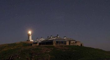 Night on South Solitary Island - Photo by Paul van den Boom, Astro Photography, Volunteer FOSSIL, NS