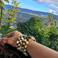 Gemstone bracelets and Okanagan Valley