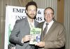 Ross Marquand, Actor in the Walking Dead and Mad Men visits Empires and Kingdoms: The English Slave booth during Emmys Week 2017