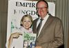 Actress Debi Derryberry of Full Treasures and Jimmy Neutron points to EMPIRES AND KINGDOMS: THE ENGLISH SLAVE