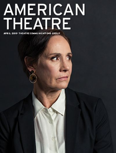 April 2019 American Theatre Magazine cover