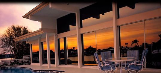 Professional window tinting for your home and business.  Residential and commercial window tinting.