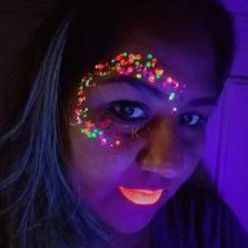 uv face and body pain glow in the dark face paint in Raleigh
