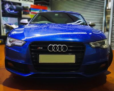 Audi S5 with Ghost immobiliser
