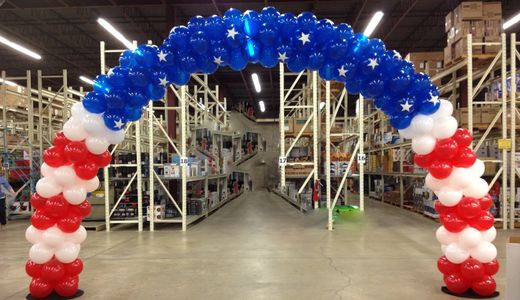 One of our many balloon arches made in Pinellas County, FL!