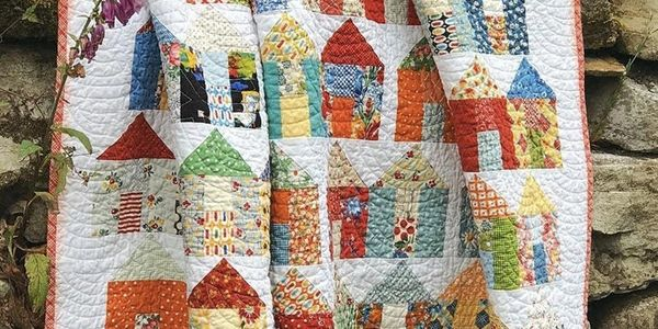 Free Village Pattern, just click the download button on this beautiful pattern and enjoy!!