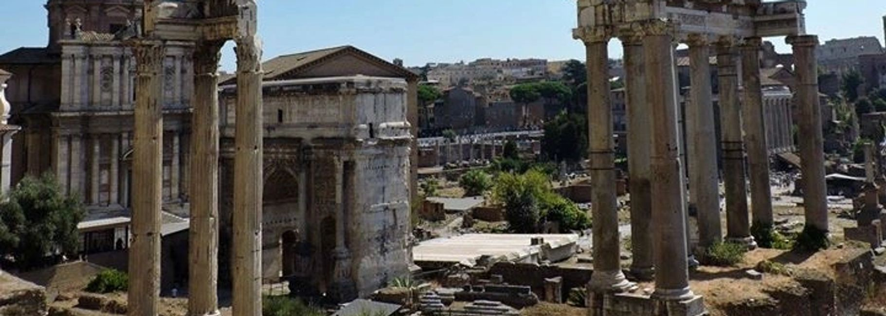 Roman Forum, Photo credit: Sabrina Pangione