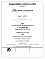 Community Foundations held its second annual Housing Forum on April 21, 2018.  Make your plans early