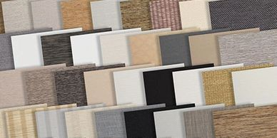 roller shades fabric samples, screen shades, blackout  shade samples, Rockville Maryland,