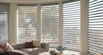 Pirouette Sheer Shadings, Hunter Douglas, sheer shades, fabric shades, Rockville MD, Metro DC