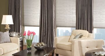 Cellular Shades, honeycomb shades, d cell shades Vista Products, Rockville MD