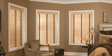 Wood Blinds, basswood blinds, Vista Products, wood blinds with tapes, Rockville, MD, Metro DC