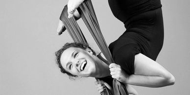 aerial silks classes for children and adults at springs dance