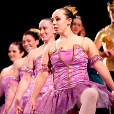 Adult ballet students from Springs Dance