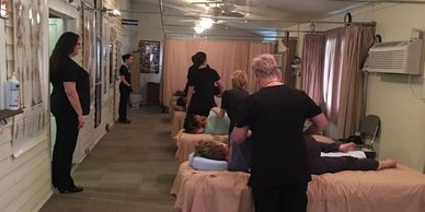 Live, Hands-On Massage Course, Massage CEU Classes