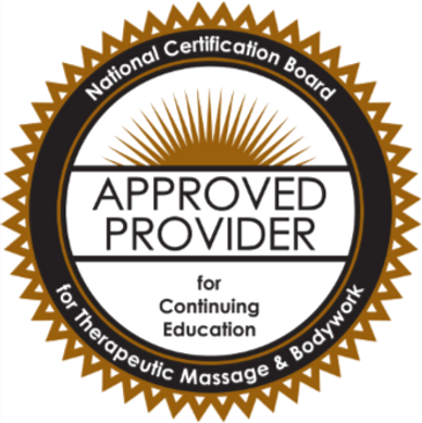 NCBTMB Approved Provider for Massage Therapy CEUs