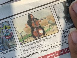 Brittni Leigh in Henry County Times