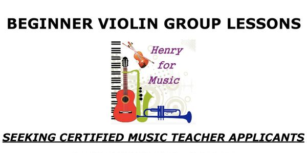 Beginner Violin Group Lessons
