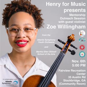 Henry For Music Mentorship Outreach Zoe Willingham