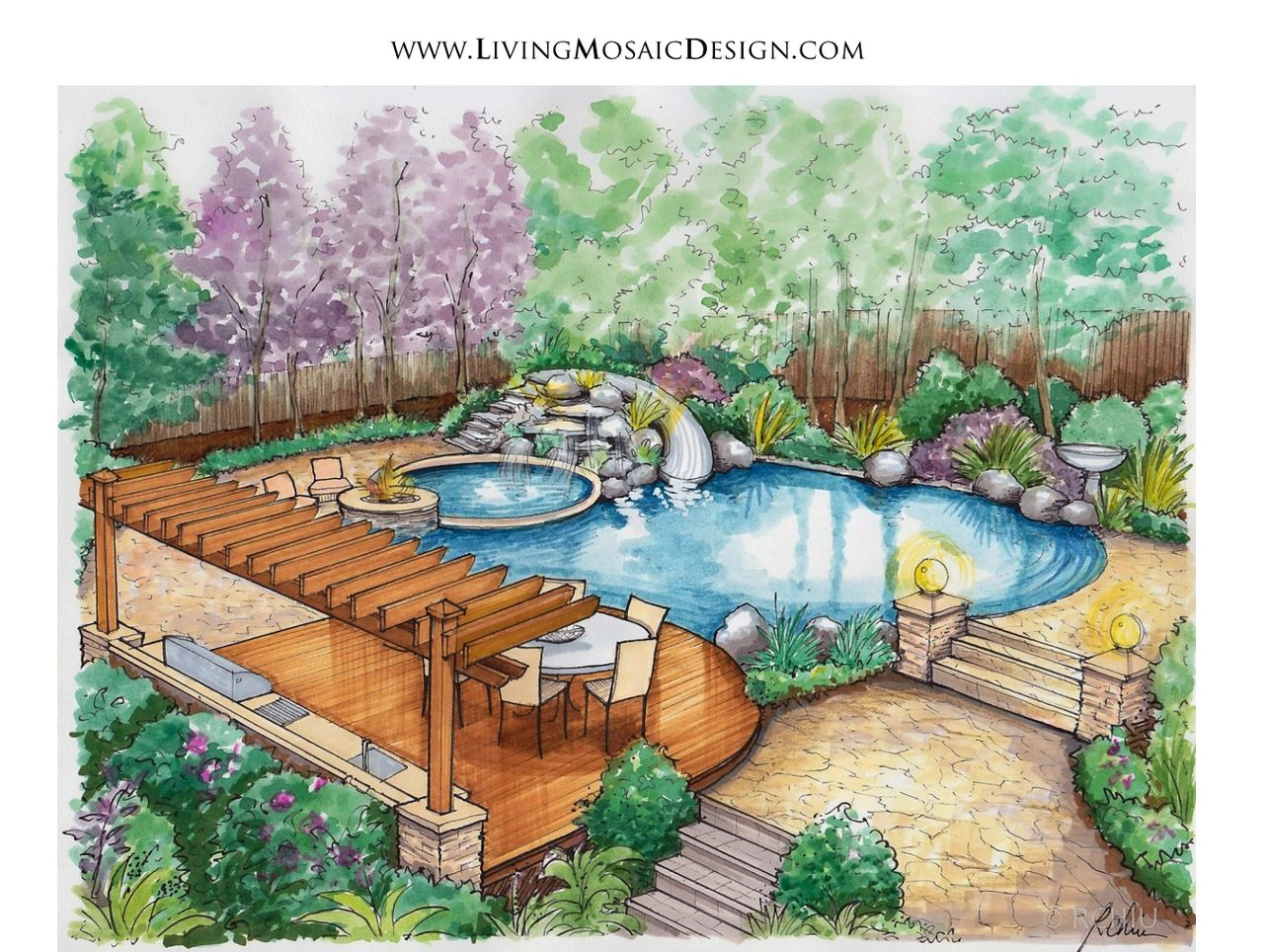 The Design Process Living Mosaic Design Studio Llc