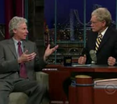 Jeff Peckman interviewed by David Letterman on the Late Show