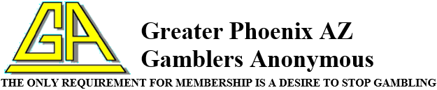 Greater Phoenix AZ  Gamblers Anonymous