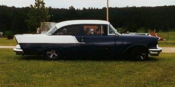 1957 Chevy 150 Sedan. , 355, 700 r4, Camaro suspension,