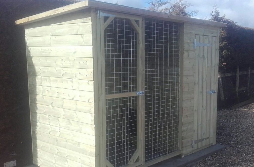 Beaulieu kennel 8'x 4'