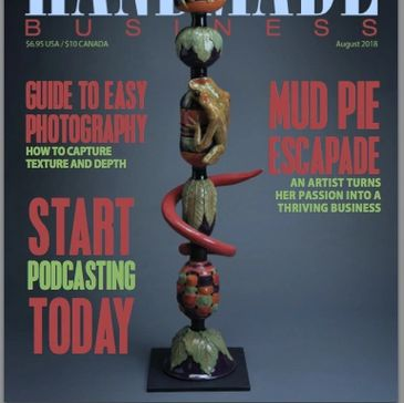 Cover of Handmade Business Magazine