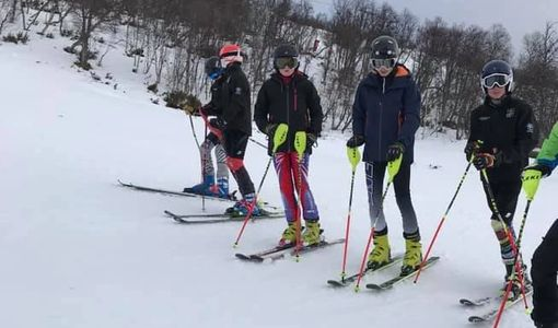 E.S.SKI A. SQUADS   E.S.SKI A. has organised snow trainings for selected skiers since 1980. A consid