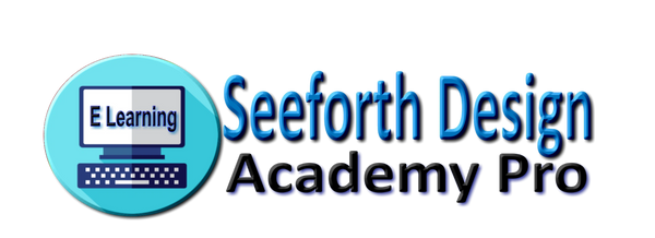 Online learning from Seeforth Design Academy Pro logo