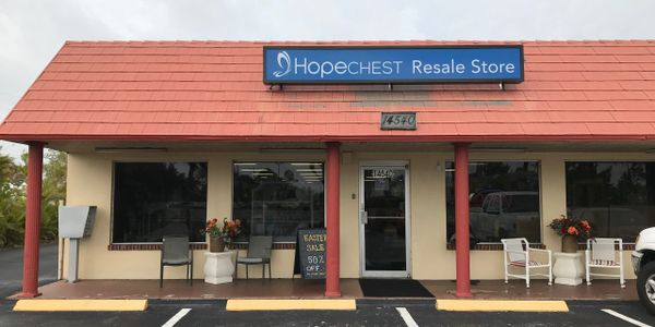 Facebook Page Hope Chest Resale Shop Fort Myers, FL managed by Seeforth Design