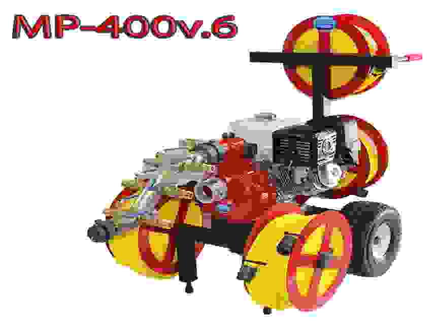 Code 3 water MP-400 v.6 wildfire pump cart system