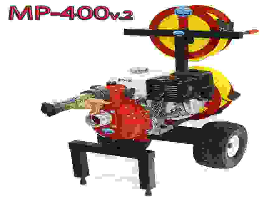 Code 3 water mobile MP-400 v.2  wildfire pump cart system