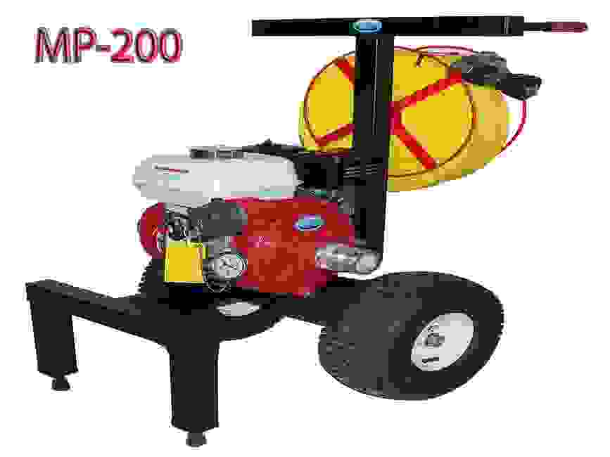 Code 3 water mobile portable MP-200  wildfire pump cart system