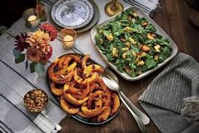 The art of side dishes are paired to compliment the main dish. Creativity and planning make the meal
