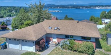 1 level living with an amazing view in Port Orchard sold to clients who plan to renovate. Cute home