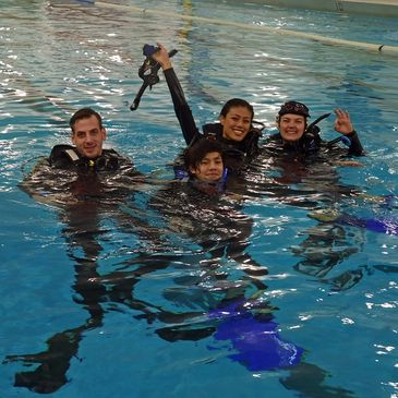 PADI Open Water Diver course in Toronto with Water Sports Scuba