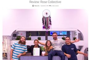 DOPE Cannabis Magazine Honored Rose Collective W/ This Amazing Review (Beyond The Bud owners in pic)