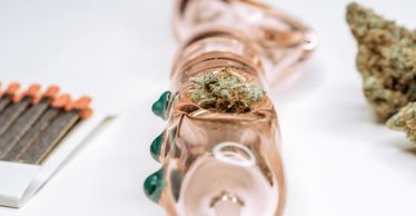 (Cannabis pipe, matches, & flower) Premium Product Photography- *Content created by - Enja Eriksen