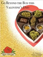 (Cannabis inside a Valentine's chocolate gift box) Premium Content Created By Enja Eriksen
