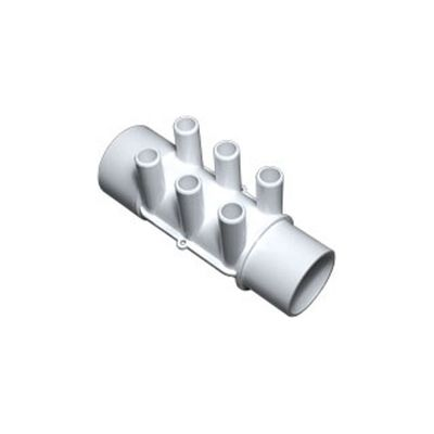 Water manifold with 6 outlets