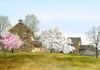 Ray Hendershot ANOTHER SPRING Watercolor, 15 x 29-1/2 inches