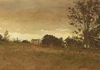 Ray Hendershot YELLOW BAND SKY (detail) Watercolor, 9 x 20 inches