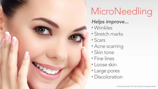 microneedling, PRP, hair restoration, sclerotherapy, PDO threads, Kybella, HydraFacial, Cellfina