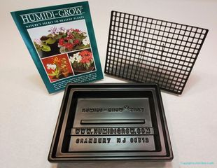 HT-101 Humidi-Grow humidity tray for Orchids, African Violets, Bonsai trees, Cacti and other plants.