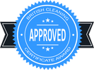 British Cleaning Certificate Awarded