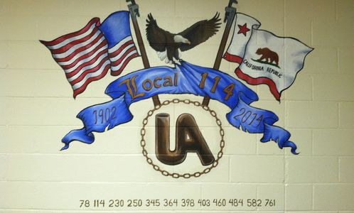 Plumber & Pipefitter Union Local 114 Mural