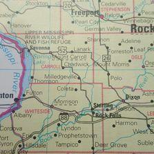 Thomson Illinois Map.Public Library York Township Public Library