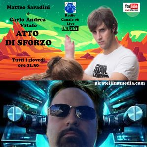 ATTO DI SFORZO Thursdays - 9.30 pm
